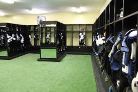 amazing nfl style locker room for peninsula high in