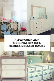 Ikea Hemnes Changing Table 8 Awesome And Original Diy Ikea Hemnes Dresser Hacks Shelterness