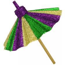 11 glitter mardi gras paper umbrella hg3055dl mardigrasoutlet