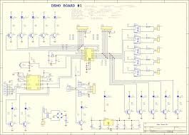 microcontroller based schematics circuits and diagram