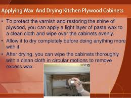 How To Clean Kitchen Cabinets How To Clean Plywood Kitchen Cabinets