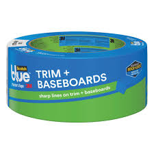 3m scotchblue 1 88 in x 60 yds trim and baseboards painter u0027s