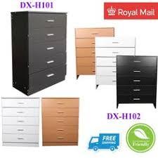 grey white chest drawers storage cabinet wicker baskets cupboard
