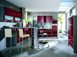 Red Kitchen Faucets Pleasant Modern Kitchen Designs Contemporary With Grey Laminated