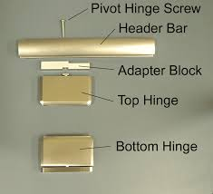 hinges for glass door installing with pivot hinges