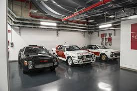 toyota car garage toyota rally history under one roof autoevolution