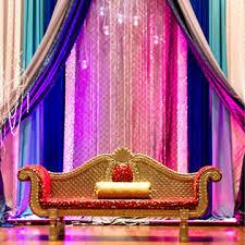 wedding backdrop canada far east wedding decor modernrani south asian wedding