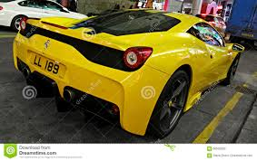 ferrari yellow car sports car ferrari editorial photography image 66505602