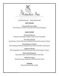the metuchen inn dine metuchen menu u2013 downtown metuchen