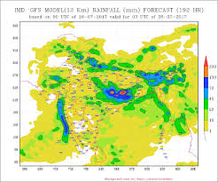 Monsoon Asia Map by Imd Predicts Heavy Rainfall For Central Northwest India India