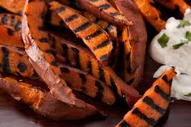 sweet potato thanksgiving dish grilled sweet potatoes recipe chowhound