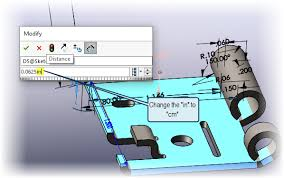 how to change the scale in the catia v5 updated