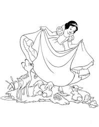 disney snow white coloring