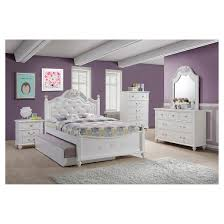 Full Bed With Trundle Annie Bed With Trundle Full White Picket House Furnishings