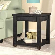 Rustic End Tables And Coffee Tables Rustic End Side Tables You Ll Wayfair