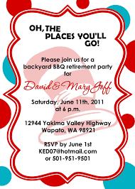 retirement party invitation template ms word minimalist srilaktv com