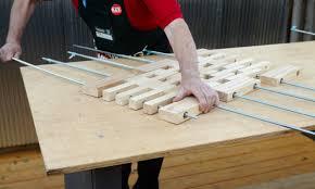 d i y wooden floor mat bunnings warehouse nz