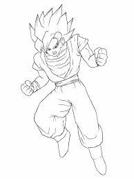 dbz draw goku pencil art drawing