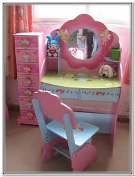 Childrens Vanity Tables Kids Vanity Table With Mirror Home Design Ideas