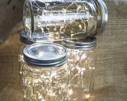 Mason Jar String Lights Firefly Lights And Mason Jar Outdoor Lightning Rustic Fairy