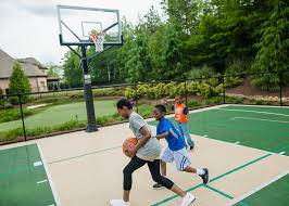 Backyard Sport Courts by Home Basketball Court Backyard Putting Greens Home Tennis