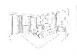dessiner une chambre en perspective projet pour impressionnant comment dessiner un meuble en