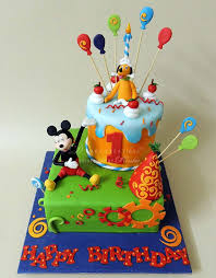 and friends cake mickey friends theme birthday cake d cake creations