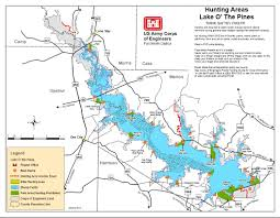 Lake Pleasant Map Map U2013 Lake O U0027 The Pines