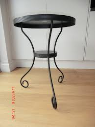 magnificence ikea black metal side table 92 with additional
