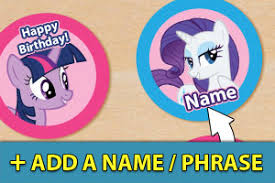 my pony cupcake toppers cupcake toppers mylittlepony name jpg 75da5c