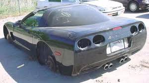 damaged corvettes for sale p5 wrecked corvettes and project cars for sale