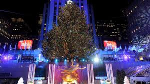 lighting of the tree rockefeller center 2017 christmas attractions across america