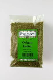 origan en cuisine origan entier bahadourian origan entier sachet 50g les herbes