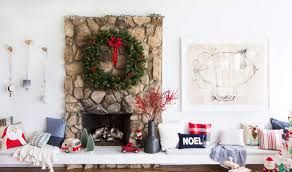 Living Room Wall Decor Target Decorating For The Holidays Family Friendly Style Emily Henderson