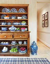 How To Display China In A Hutch Arrange Shelves To Showcase Collections Traditional Home