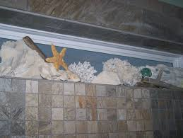 Ocean Bathroom Decor by Bathroom Tile W Mermaid Window Ledge Mermaids U0026 Mythical Sea Life