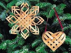 vermont snowflake ornaments baskets and brooms shaker workshops