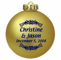 sale personalized ornaments
