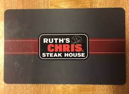 ruth chris gift cards coupons giftcards new 250 ruth s chris steak house gift card