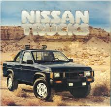 nissan trucks 1986 5 nissan hardbody trucks brochure