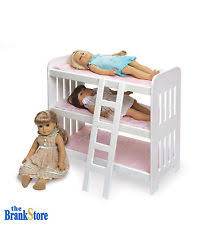 18 Inch Doll Bunk Bed Triple Bunk Bed For 20 Inch Dolls Toys Girls Age 10 American