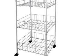 kitchen cart black plywood veneer wide kitchen pantry storage