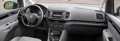 volkswagen van interior vw sharan sizes and dimensions guide carwow