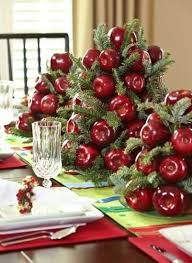 Apple Centerpiece Ideas by Colorful Christmas Table Decor Ideas 25 Bright Holiday Table