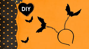 diy headband for halloween bat on your head a cheap and