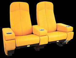 Comfortable Home Theater Seating Cinemashop Home Theater Chairs Authentic Movie Theater Seats