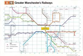 greater manchester local train u0026 metrolink network maps