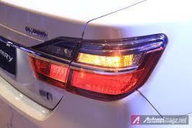 2015 toyota camry tail light 2015 toyota camry facelift tail light garnish autonetmagz