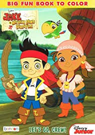 amazon jake neverland pirates 96 coloring book