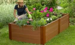 composite and plastic raised garden beds raisedbeds com